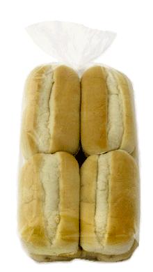 White Sliced Sub Bun 5