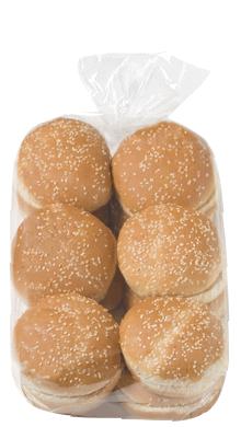 Seeded Hamburger Bun 4